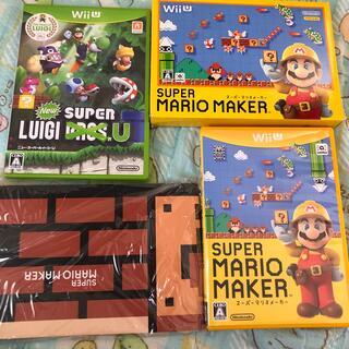 ウィーユー(Wii U)のNew スーパールイージ U Wii U と マリオメーカー(家庭用ゲームソフト)