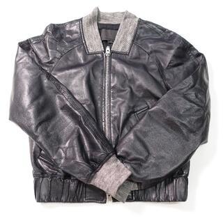 アレキサンダーワン(Alexander Wang)の■Alexander Wang レザージャケット ブラック レディースXSサイズ(ライダースジャケット)
