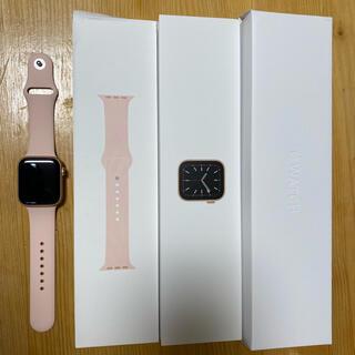 Apple Watch - 2年保証付 Apple Watch series 6 44mm GPS