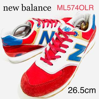 New Balance - new balance/ニューバランス★574OLRオリンピックレッド★26.5