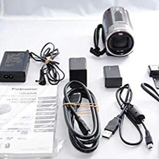 パナソニック(Panasonic)のパナソニック デジタルハイビジョンビデオカメラ V620 32GB ブラウン(ビデオカメラ)