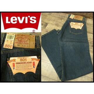 リーバイス(Levi's)の新品 デッド 90s 米国製 Levi's リーバイス 501 デニム W28(デニム/ジーンズ)