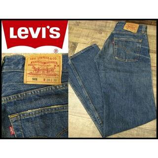 リーバイス(Levi's)の新品 00年製 米国製 Levi's リーバイス 501 加工 デニム W28(デニム/ジーンズ)