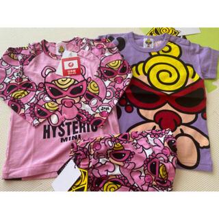 ヒステリックミニ(HYSTERIC MINI)の90cm(Tシャツ/カットソー)