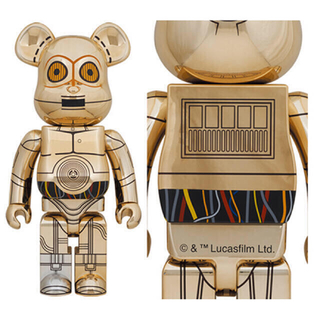 MEDICOM TOY - レア❤️ Star Wars C-3PO 1000% ベアブリック/未開封
