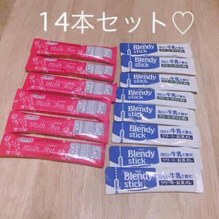 AGF - カフェインレスミルクティー♡ブレンディスティック♡紅茶オレ♡カフェオレ