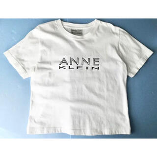 アンクライン(ANNE KLEIN)のanne klain ロゴ入りTシャツ L(Tシャツ(半袖/袖なし))