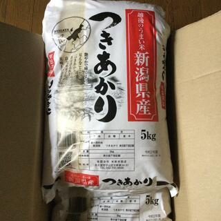 白米 お米 10kg つきあかり 5kg×2  新潟県産 匿名配送