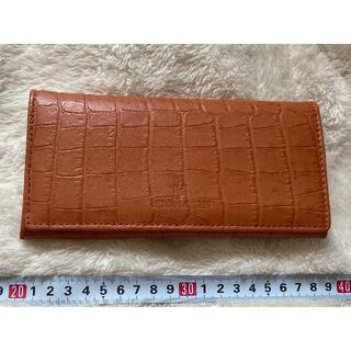 ヴァレンティノ(VALENTINO)のルチアーノ バレンチノ LUCIANO VALENTINO/クロコ型押し長財布(財布)