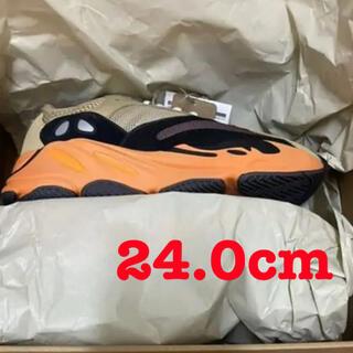 アディダス(adidas)のADIDAS YEEZY BOOST 700 24.0 イージー アディダス(スニーカー)