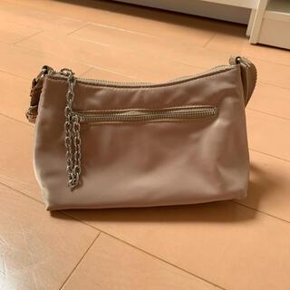 エイチアンドエム(H&M)の新品同様 H&M ハンドバッグ ショルダーバッグ チェーン ベージュ(ショルダーバッグ)