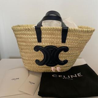 セリーヌ(celine)のCeline セリーヌ 2021年新色トリオンフパニエラフィアかごバッグ(かごバッグ/ストローバッグ)