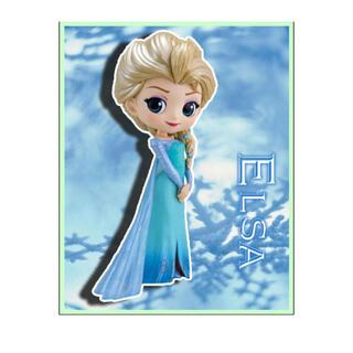【新品未開封】 アナと雪の女王 アナ雪 エルサ Qposket フィギュア