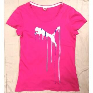 プーマ(PUMA)のPUMA スポーツTシャツ ピンク(ウェア)