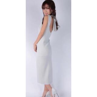 エイミーイストワール(eimy istoire)のバックリボンタイトドレス(ロングワンピース/マキシワンピース)