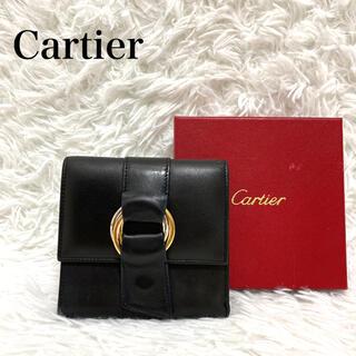 カルティエ(Cartier)のCartier  カルティエ 三つ折り財布 トリニティ ウォレット レザー(財布)
