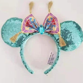 Disney - 再入荷★海外ディズニー限定❣️アラジン ジャスミンモチーフ魔法の絨毯カチューシャ