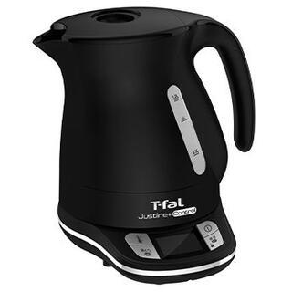 T-fal - 【未使用】電子ケトルジャスティン プラス コントロール ブラック 1.2L