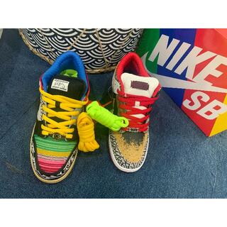 """NIKE - NIKE SB DUNK LOW """"WHAT THE P-ROD"""" 27.5cm"""