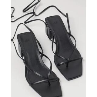 ザラ(ZARA)のZARA 紐サンダル 紐シューズ 靴(サンダル)