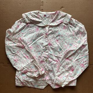 クレージュ(Courreges)のクレージュ 花柄シャツ150(ブラウス)