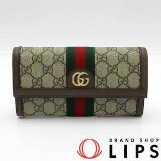 Gucci - グッチ オフィディア GGコンチネンタル ウォレット