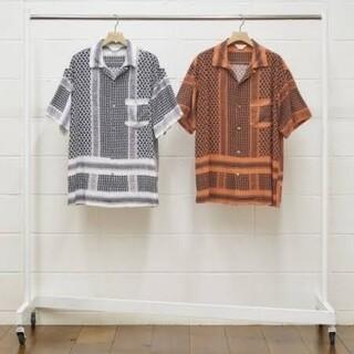 UNUSED - UNUSED アフガンプリントシャツ