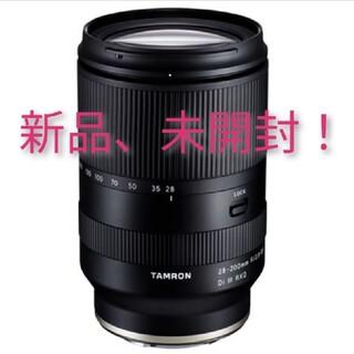 タムロン(TAMRON)の新品 TAMRON 28-200mm タムロン Eマウント ソニー(レンズ(ズーム))