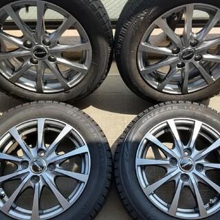 BRIDGESTONE - 2018年155/65R14ブリジストンVRXタイヤホイール4本セット
