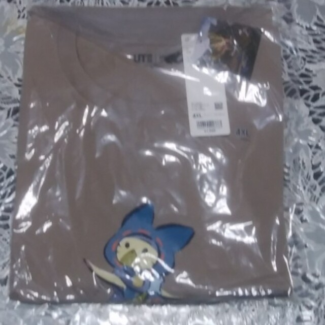 UNIQLO(ユニクロ)のUNIQLO 4XL Tシャツ メンズ 3枚 大きいサイズ 新品 未開封 メンズのトップス(Tシャツ/カットソー(半袖/袖なし))の商品写真