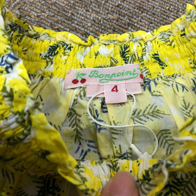 Bonpoint(ボンポワン)の美品 ボンポワン  ブラウス 4a キッズ/ベビー/マタニティのキッズ服女の子用(90cm~)(ブラウス)の商品写真