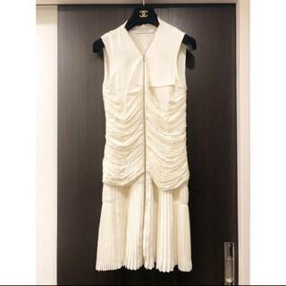 クリスチャンディオール(Christian Dior)のDiorラフシモンズラストコレクション(ひざ丈ワンピース)