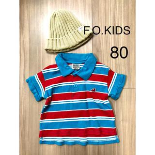 F.O.KIDS - F.O.KIDS ポロシャツ 80