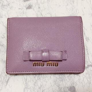 miumiu - MIU MIU ミュウミュウ お財布