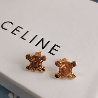 celine - ★オススメ★CELINEセリーヌ ピアス レディース 刻印 美品