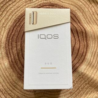 IQOS - 美品 iqos3 duo  ゴールド メンテナンス用品未使用