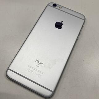 アイフォーン(iPhone)のSIMフリー☆中古訳有 iPhone6s plus 64GB シルバー(スマートフォン本体)