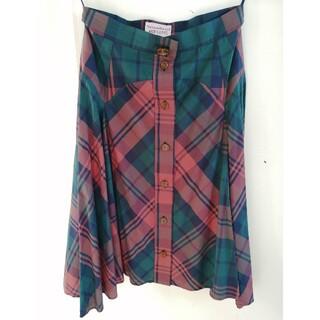 ヴィヴィアンウエストウッド(Vivienne Westwood)のVivienne Westwood RED LABEL スカート(ひざ丈スカート)