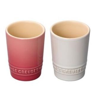 LE CREUSET - 【未使用】ル・クルーゼ ショートタンブラー ペアセット  (湯呑み)