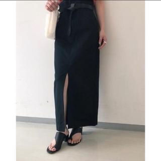 mame - mame kurogouchi 2018ssハイウエストスカート