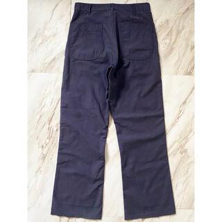 マルタンマルジェラ(Maison Martin Margiela)の濃紺 vintage 米軍 us.navy セーラー ユーティリティパンツ(ワークパンツ/カーゴパンツ)