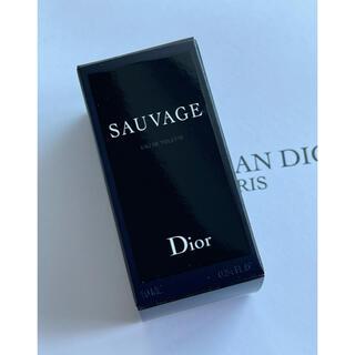 クリスチャンディオール(Christian Dior)のDior SAUVAGE ディオール ソバージュ dior(香水(男性用))