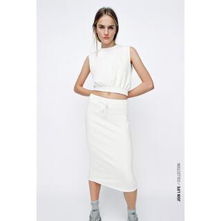 ザラ(ZARA)のZARA新作 スカート(ひざ丈スカート)