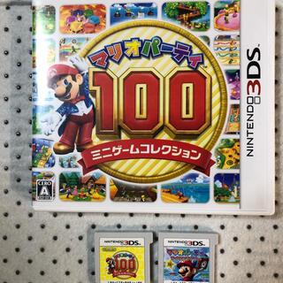 ニンテンドー3DS(ニンテンドー3DS)のマリオパーティ100  マリオパーティアイランドツアー(携帯用ゲームソフト)