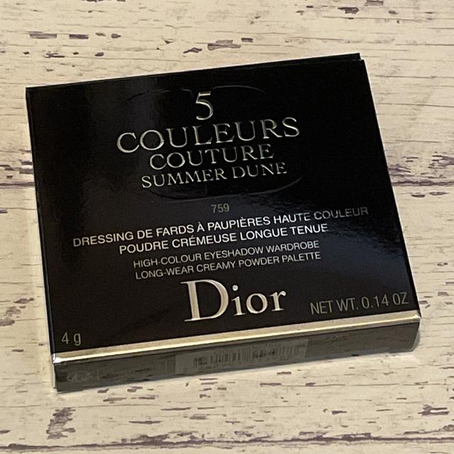 Dior(ディオール)の 新品 国内購入 ディオール サンク クルール クチュール 759 デューン コスメ/美容のベースメイク/化粧品(アイシャドウ)の商品写真