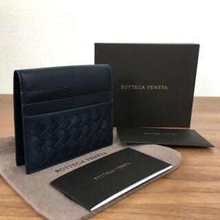 ボッテガヴェネタ(Bottega Veneta)の未使用品 BOTTEGA VENETA コンパクトウォレット 185(折り財布)