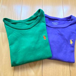 Ralph Lauren - ラルフローレン  ティーシャツ 2枚セット 90〜100cm