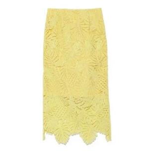 フレイアイディー(FRAY I.D)のフレイアイディー レースタイトスカート(ひざ丈スカート)
