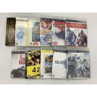 プレイステーション3(PlayStation3)のPlayStation3 ソフト  FF13 ワンピース サイコブレイク等10(家庭用ゲームソフト)