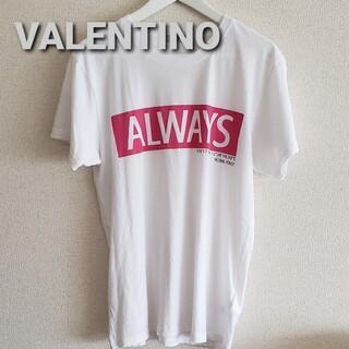 VALENTINO - VALENTINOヴァレンチノ ALWAYSロゴTシャツsizeM